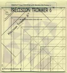 Precision trimmer ruler