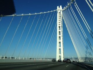 New oakland bridge