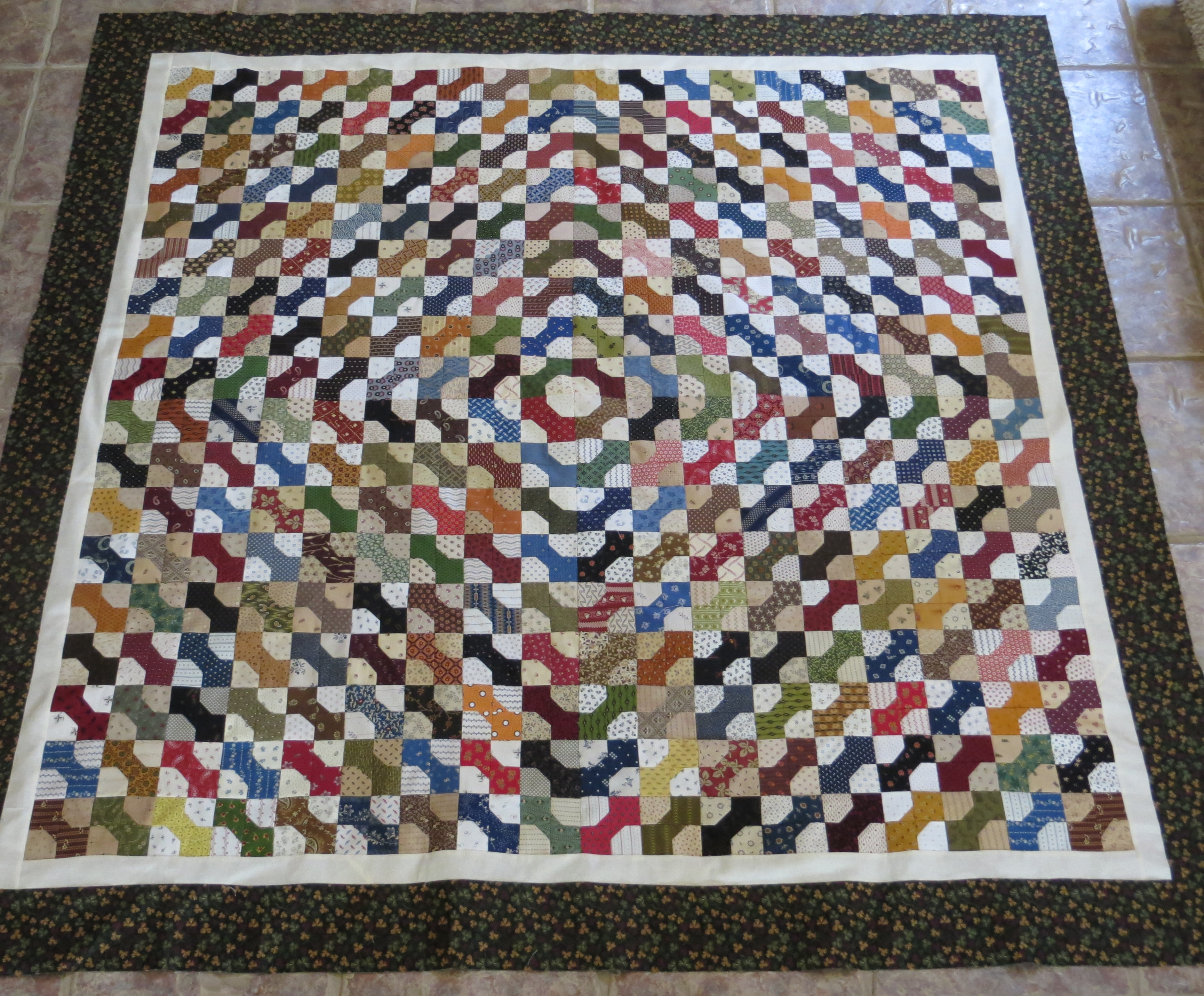 Bow Ties, an End - Sister's Choice Quilts : how to make a tie quilt - Adamdwight.com