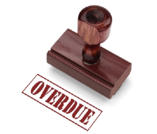 Overdue-Stamp
