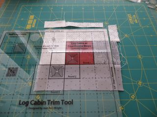 Log cabin trim tool