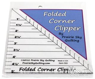 Folded corner clipper