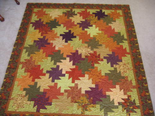 Tessellating quilt
