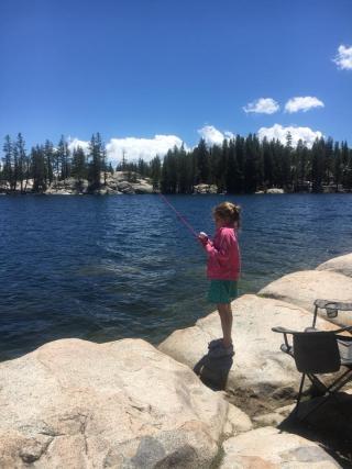 Eva fishing