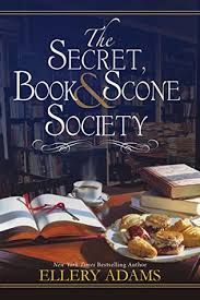 Secret book and scone