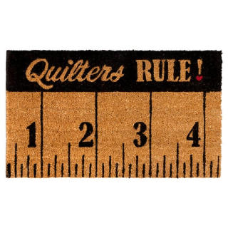 Quiltersruledoormat-out