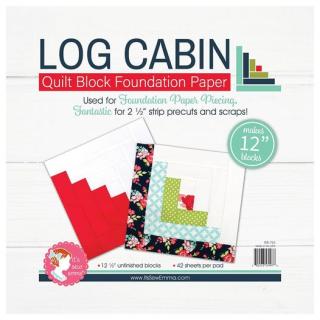 Log cabin paper