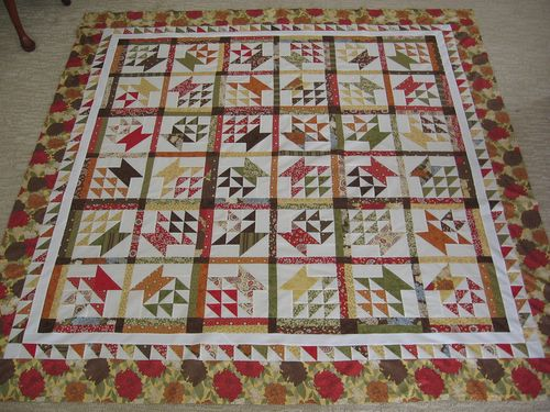 Ridiculously Cute Basket Quilt
