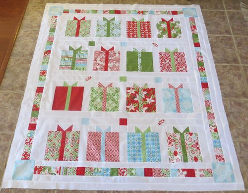 NOV all wrapped up Quilted