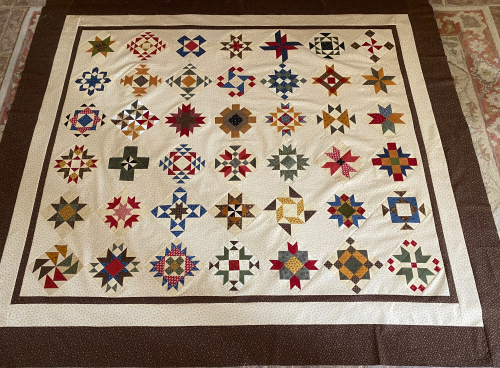 Piecing the Past Sew Along Comfort & Blessings